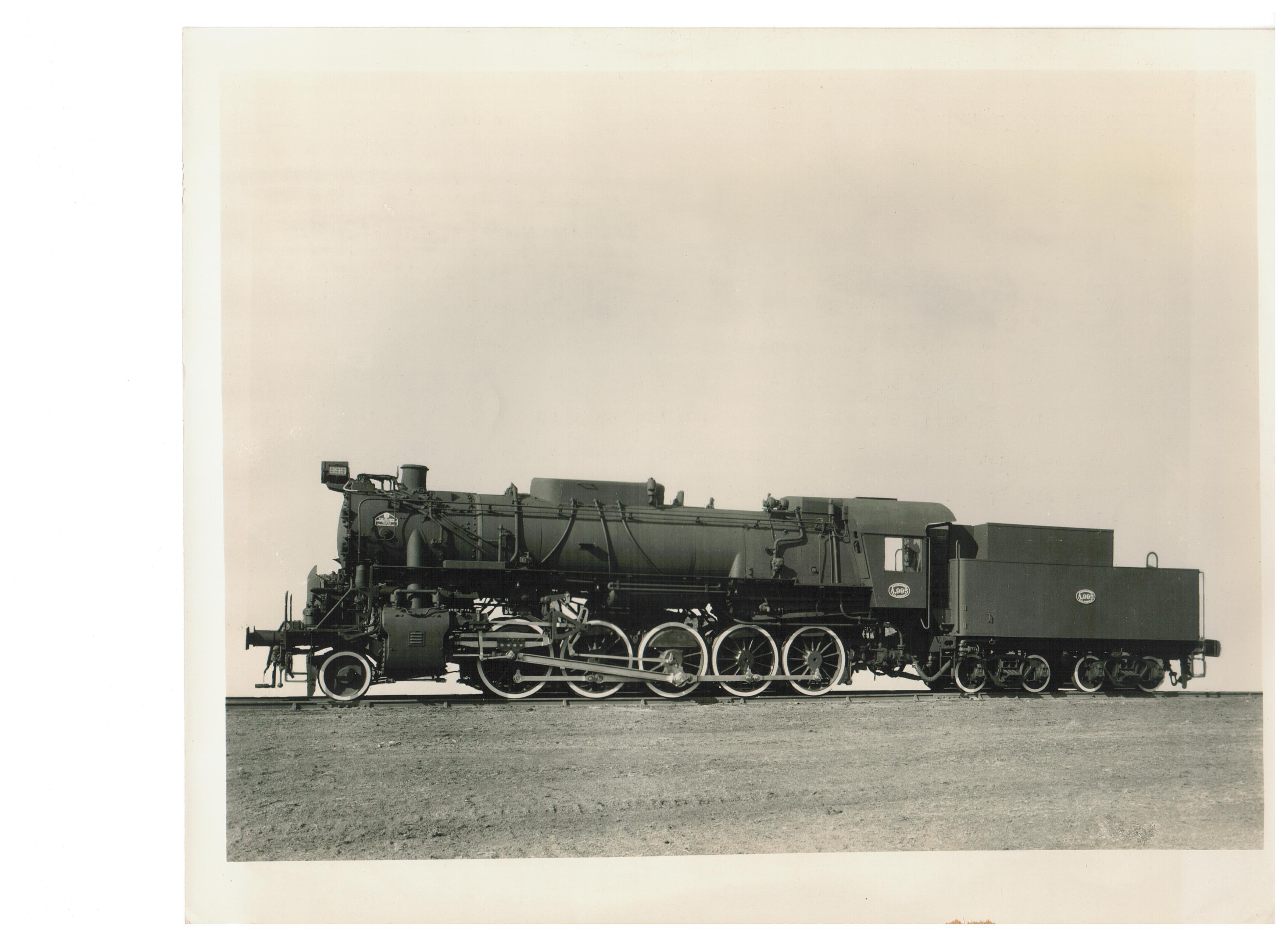 Steam train made for Greece