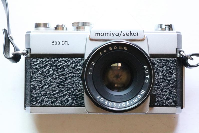 Vintage Mamiya Camera