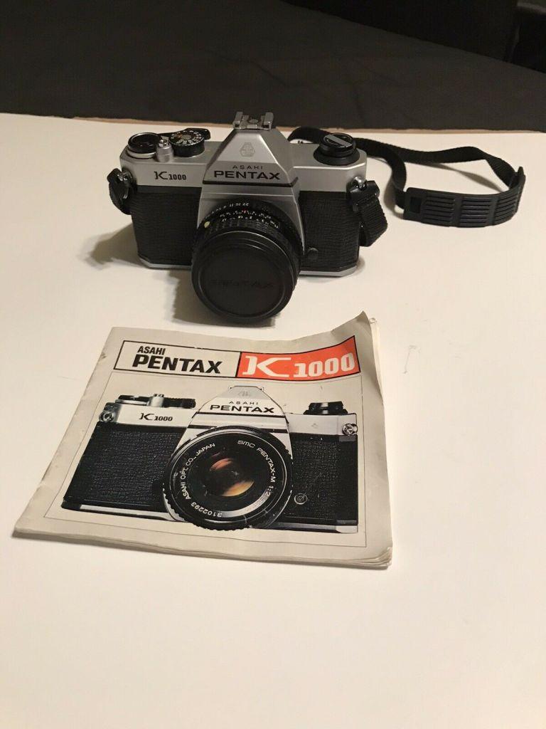 Vintage Pentax Camera