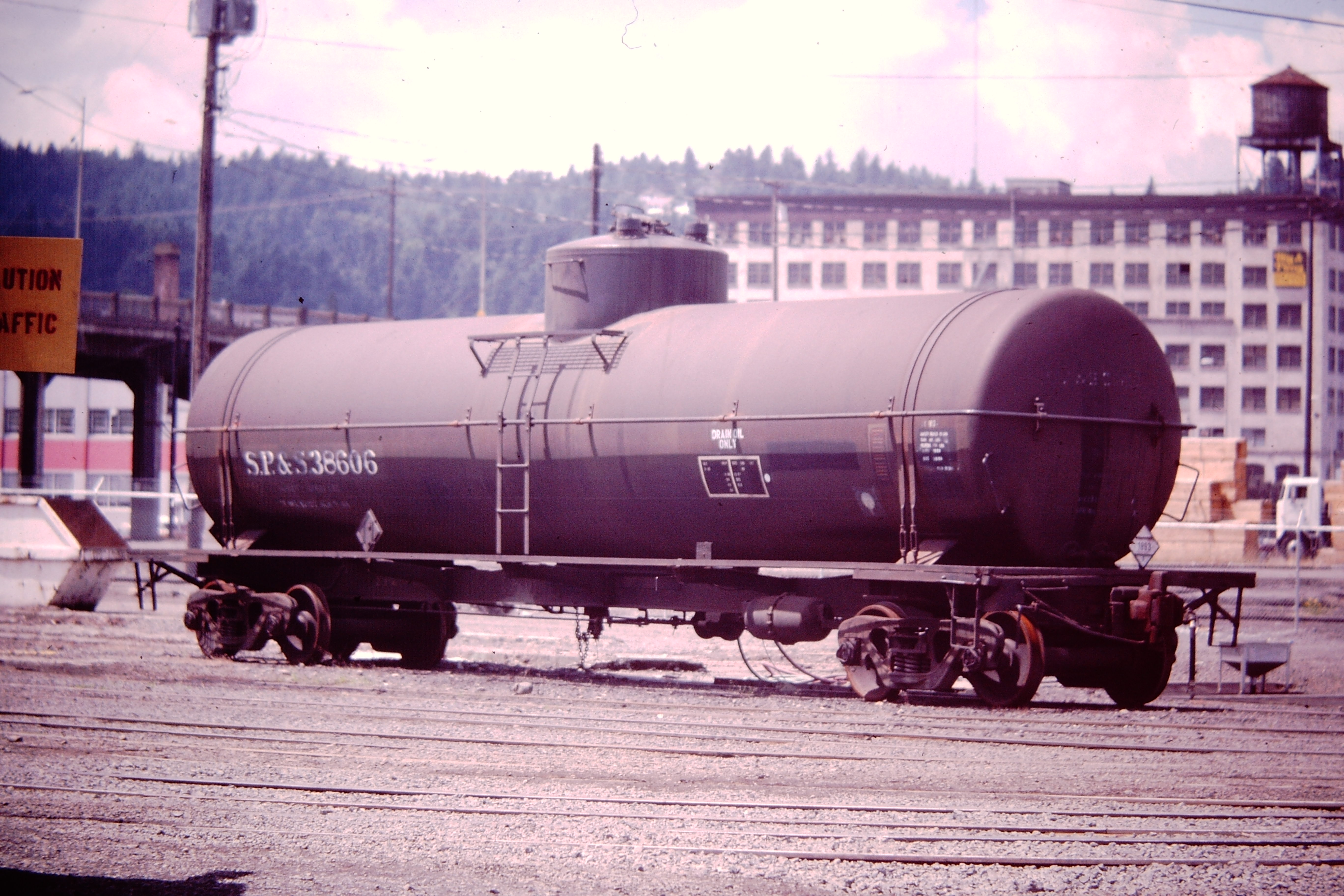 Oil Tank Car SP&S