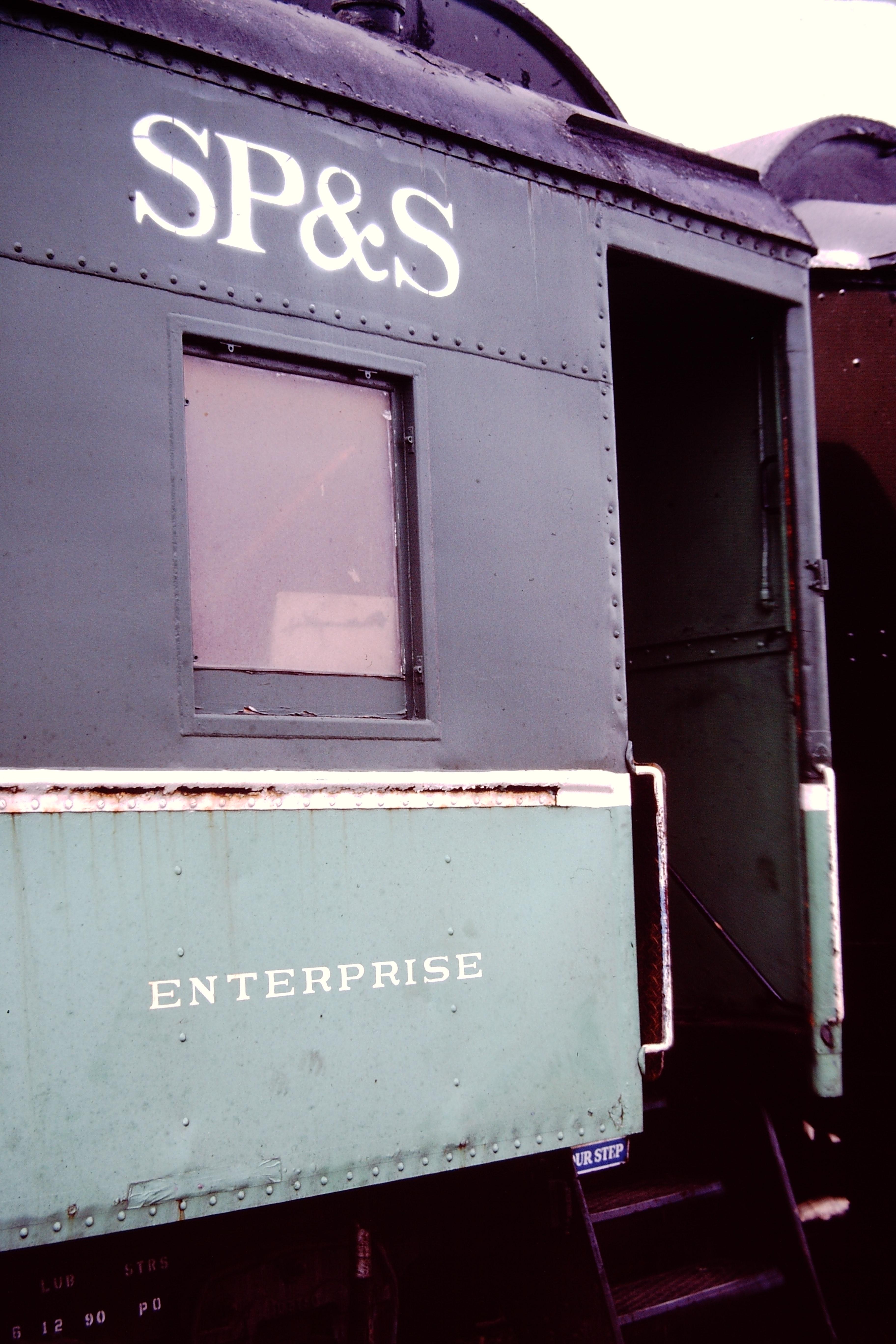 """SP&S Railway Car """"ENTERPRISE"""""""